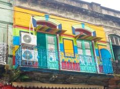 As casas coloridas são o que mais chama a atenção em El Caminito.