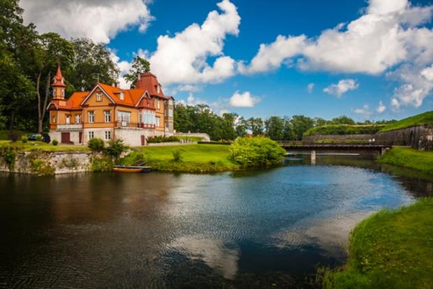 Castelo Kuressaare, Estônia.