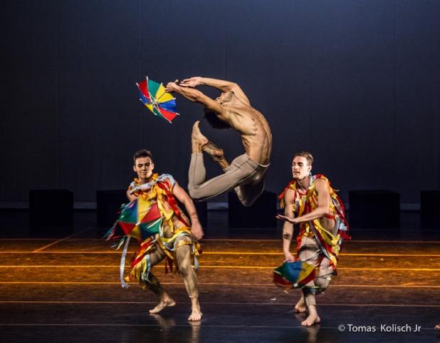 Ballet Cisne Negro no Teatro Hebraica.