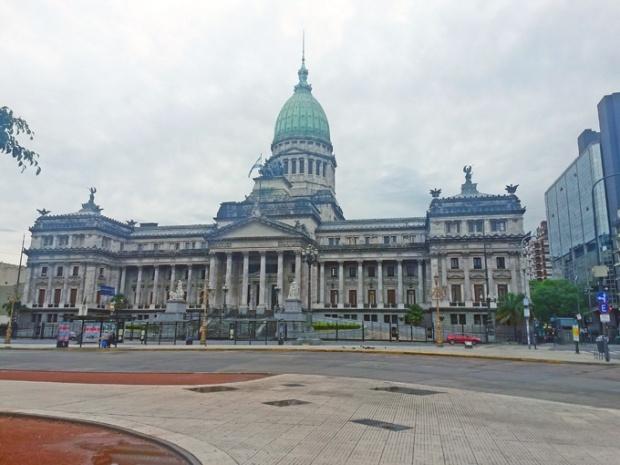 Congresso da Argentina. O 'Congreso Nacional'.