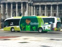 O Ecobus - Primeiro ônibus com baixa emissão de poluentes.
