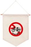 A bandeira do ciclista.