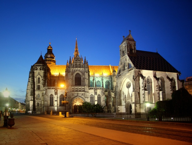 Catedral Gótica de Santa Isabel - Kosice, Eslováquia.