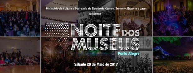 Noite dos Museus em Porto Alegre.