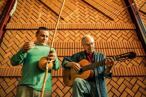 Theo de Barros e Renato Braz, hoje no Ibirapuera