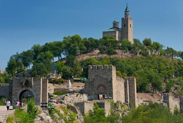 """Veliko Tarnovo, na Bulgária, tem a fama de ter sido a """"Cidade dos Czares""""."""