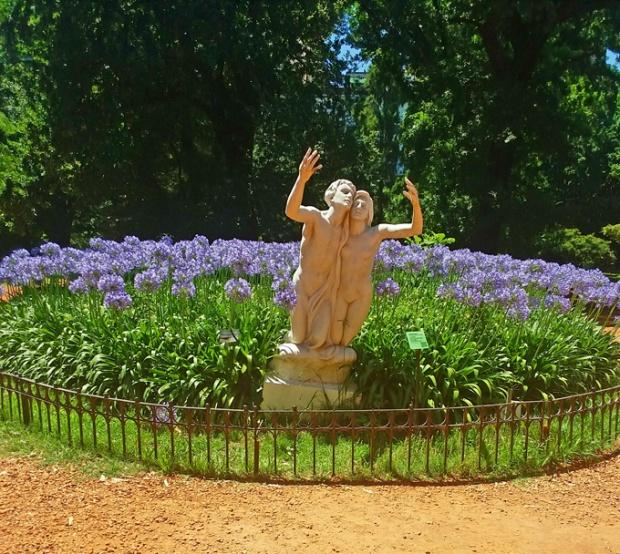 Vá cheio de paixão ou apaixone-se no Jardim Botânico de Buenos Aires.