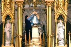 Imagem da virgem da Basílica de Luján.