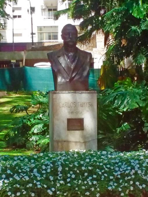 Carlos Thays, fundador do Jardim Botânico de Buenos Aires.