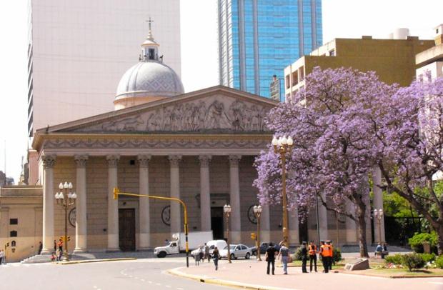 A Catedral de Buenos Aires.