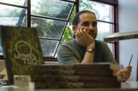 """Guss de Lucca, jornalista e escritor de """"O Monstro""""."""