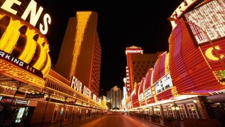 Las Vegas e seus cassinos.