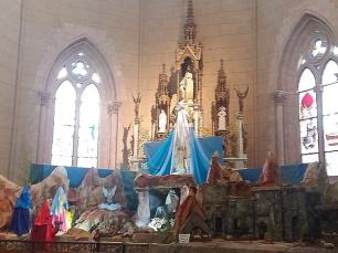 Presépio de Natal da Catedral de Buenos Aires.