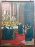 Quadro representando as missas da Catedral de Buenos Aires