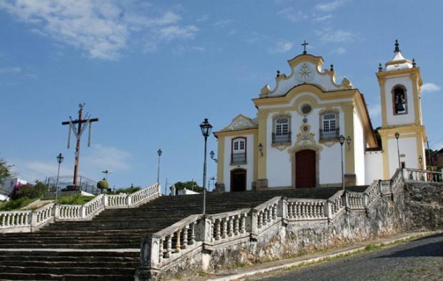 Uma das muitas igrejas de São João del Rei. Cidade encantadora!