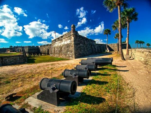 Castelo e forte de San Marcos, em Saint Augustine, Flórida.