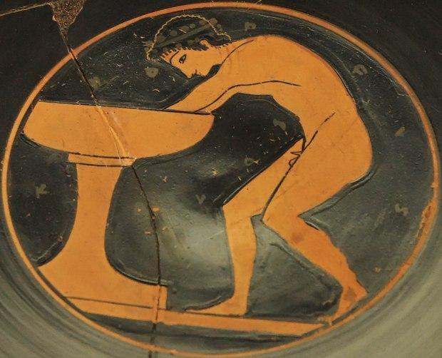 O mito grego da Fonte da Juventude.