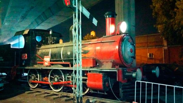A decoração do El Ferroviario é inusitada.