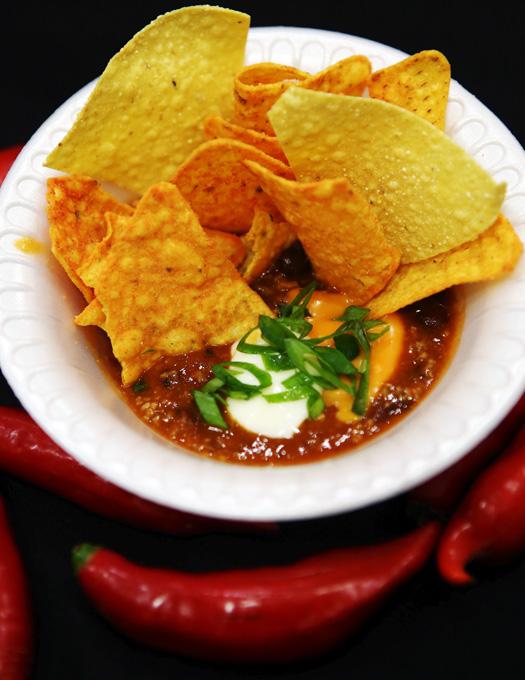 Os famosos nachos do México.