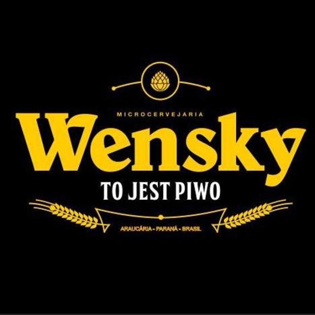 Preto e dourado. Opção pelo rótulo clássico na receita polonesa da Wensky.