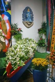 Exposição de Arranjos florais da Expoflora.