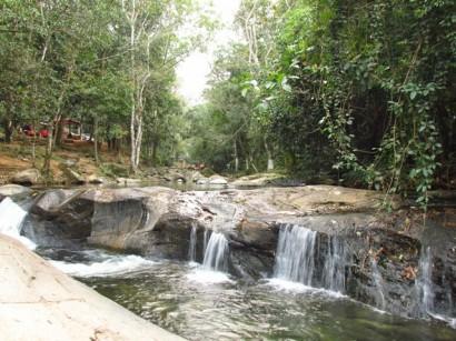As três cachoeiras vistas de alguns angulos.