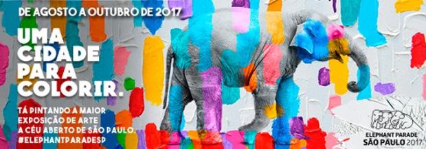 Elephantparade em São Paulo.