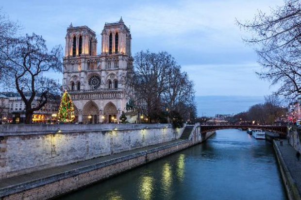 Catedral de Notre-Dame, Paris, França.