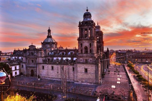 Catedral Metropolitana, Cidade do México, México.