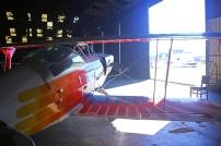 Uma máquina rápida, leve, e pronta para sair pela porta do hangar.