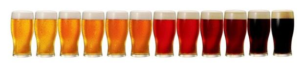 Dá até para decorar a casa com tanta cor de cerveja!
