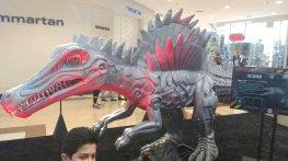 dinossauro exposicao analia franco shop transformers a bussola quebrada