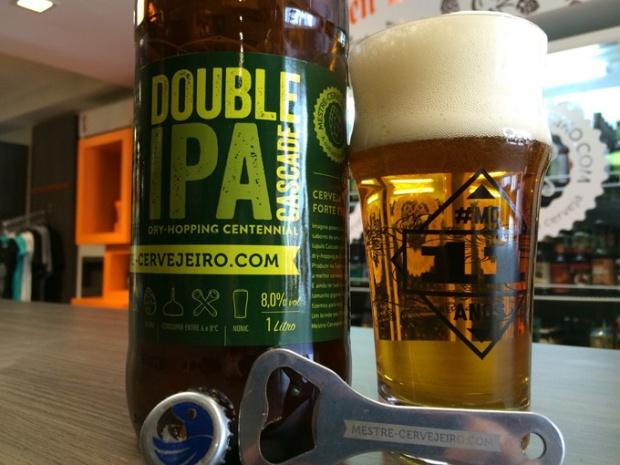 A Double IPA, exemplo de cerveja mais amarga.
