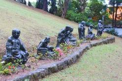 estatuas jardim templo zu lai mix aventuras