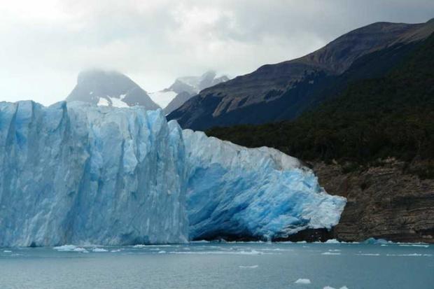 Campos de gelo, glaciares e geleiras da Patagônia Chilena.