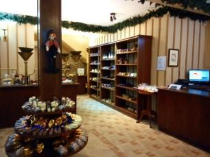 E a loja de chocolates da Pequena Finlândia. Três palavras: pão de mel!