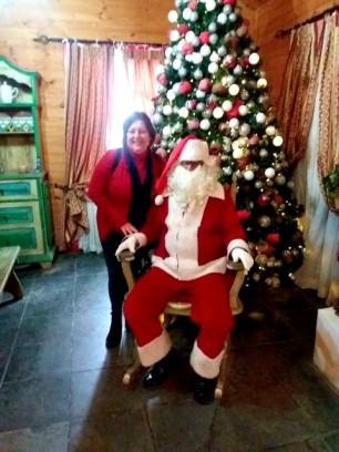 Mamãe com o Noel.