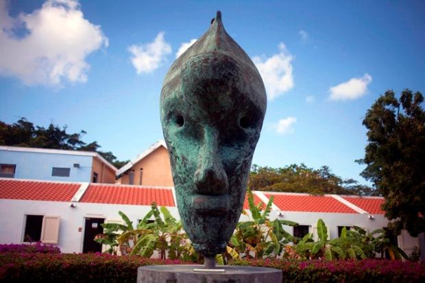 Estátua do Kura Hulanda Museum
