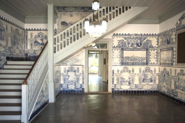 Decoração do Museu Republicano de Itu. Foto: USP.