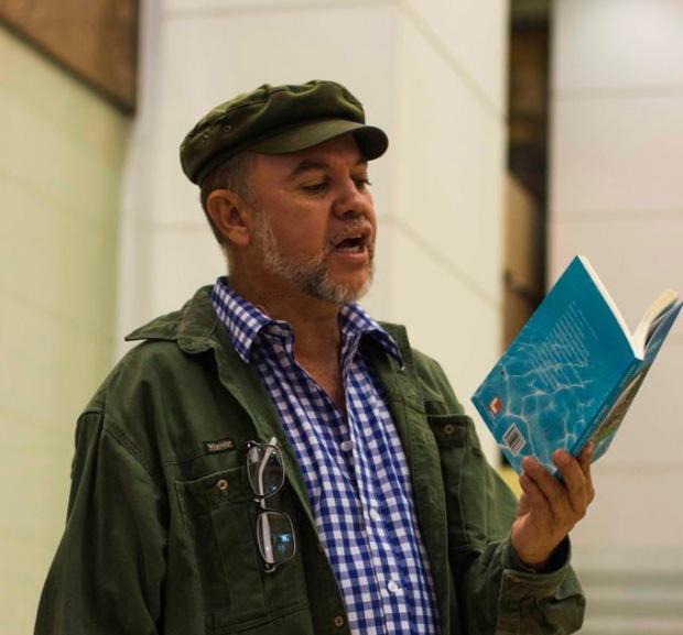 O poeta Lasana Lukata_foto Henrique Videira_bx