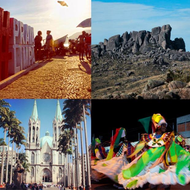 No Dia Mundial do Turismo, descubra a imensidão de destinos no Brasil.