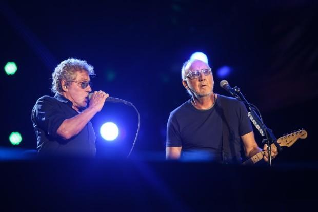 The Who provando que você só é velho quando resolve envelhecer.