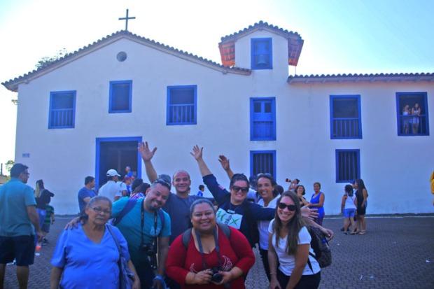 A igreja matriz de Nossa Senhora do Rosário.