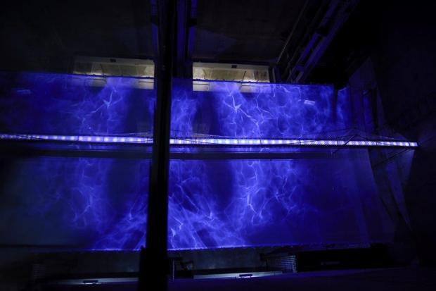 Veja as profundezas do rio Tejo na Realidade virtual na Experiência Pilar 7, na Ponte 25 de Abril, em Lisboa.
