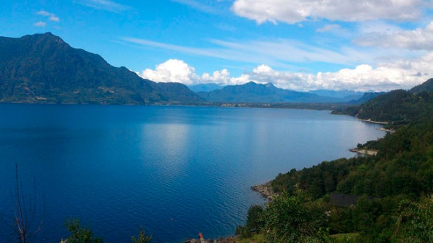 Lago Ranco, Chile.
