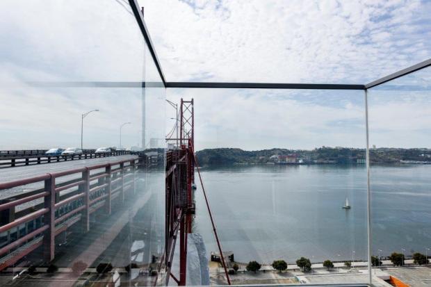 O Mirante da Ponte 25 de Abril, em Lisboa.