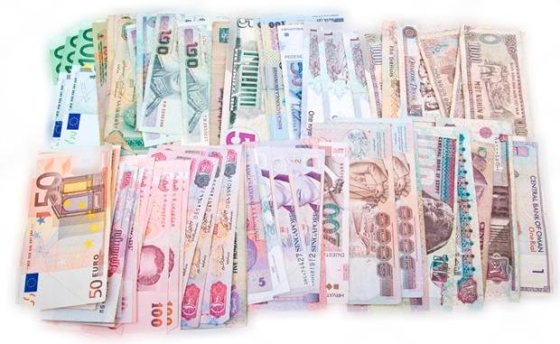 Quem já viu tanto dinheiro junto?