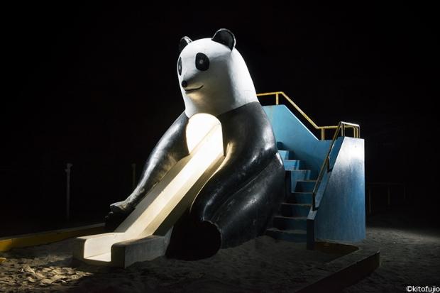 Todo mundo adora pandas. Mas este aqui não está me inspirando muita confiança.