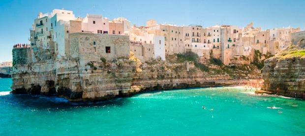 Polignano a Mare, Itália.