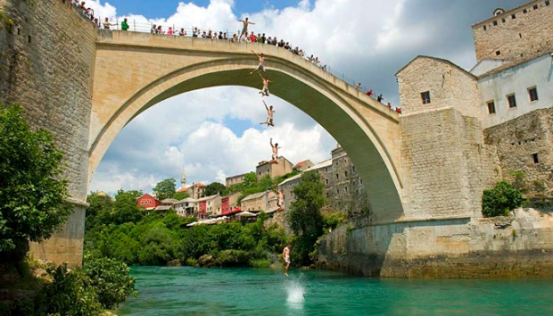 A Ponte Velha de Mostar, Bosnia
